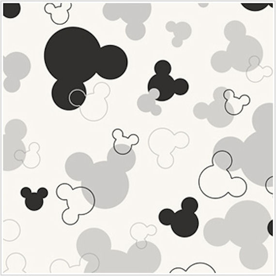 Mickey Border Black And White Clipart - Clipart Kid
