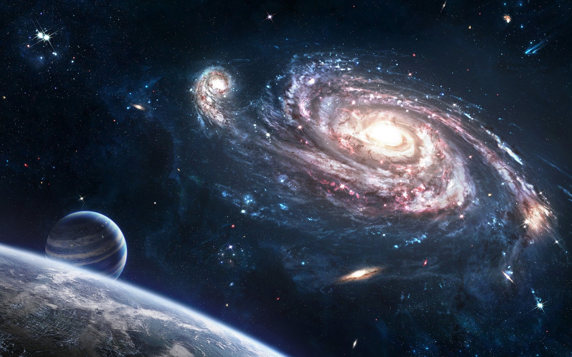 Milky Way Galaxy Wallpapers Free Download | PixelsTalk Net