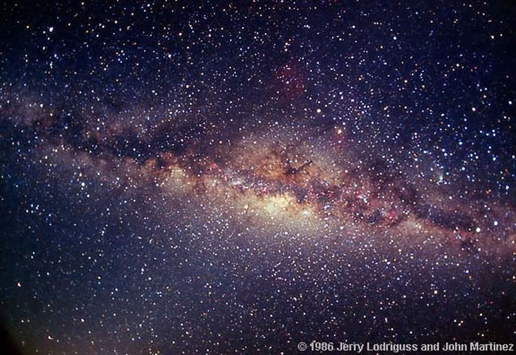 Milky Way from Earth Wallpaper - WallpaperSafari