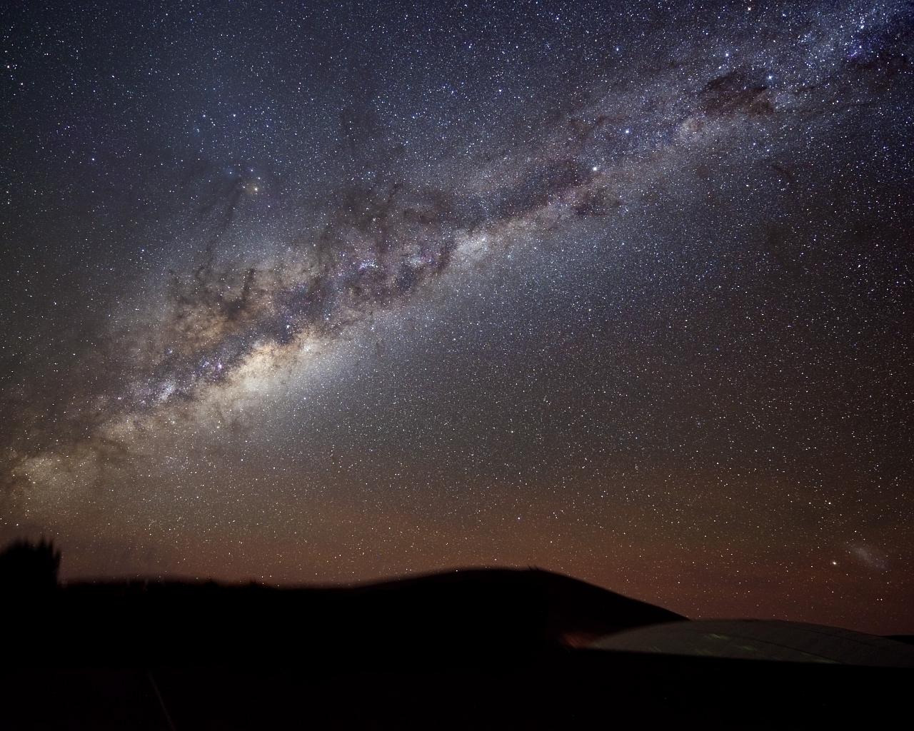 Milky Way Wallpaper Widescreen - WallpaperSafari