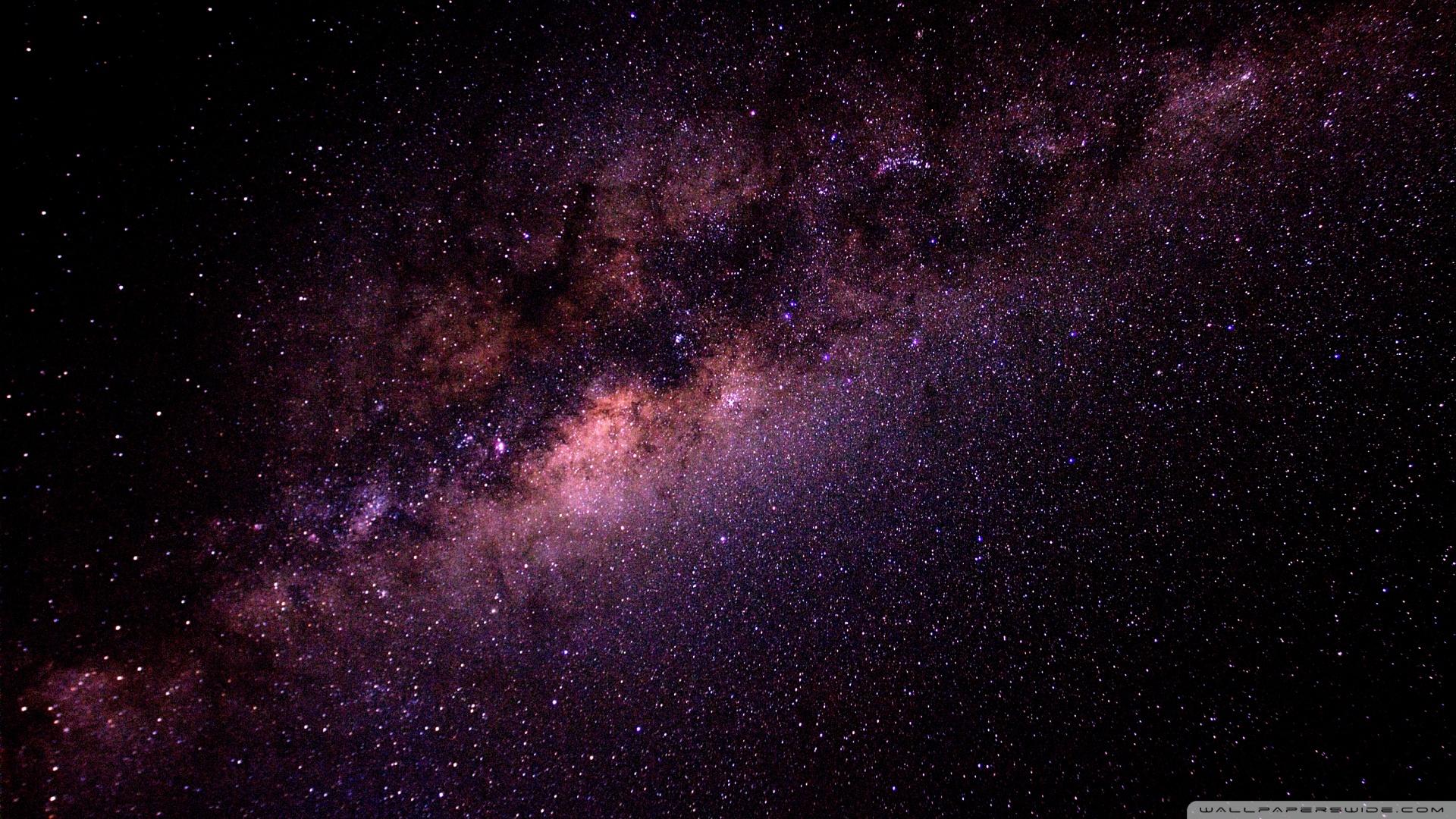 Milky Way Galaxy HD desktop wallpaper : Widescreen : High
