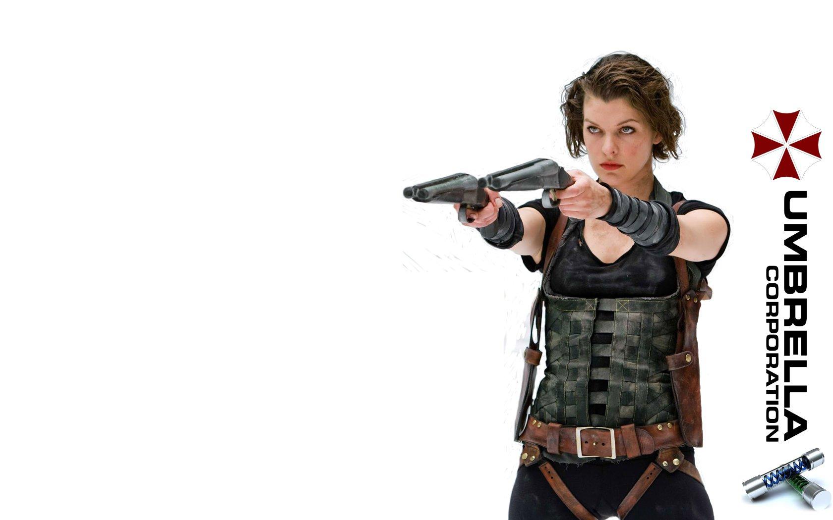 Milla Jovovich Resident Evil Wallpaper - WallpaperSafari