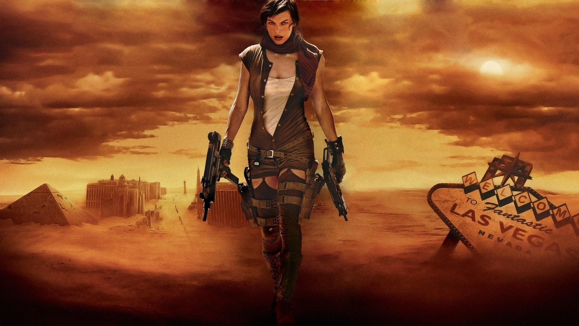Milla Jovovich Resident Evil Wallpapers - Wallpaper Cave