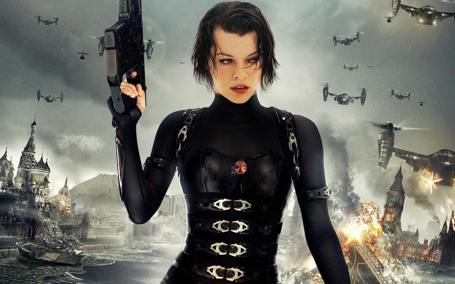 JFZ:873 - Milla Jovovich Resident Evil Wallpaper, Milla Jovovich