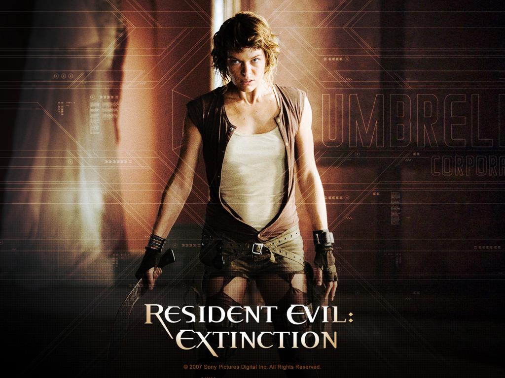 Milla Jovovich - Milla Jovovich in Resident Evil: Extinction