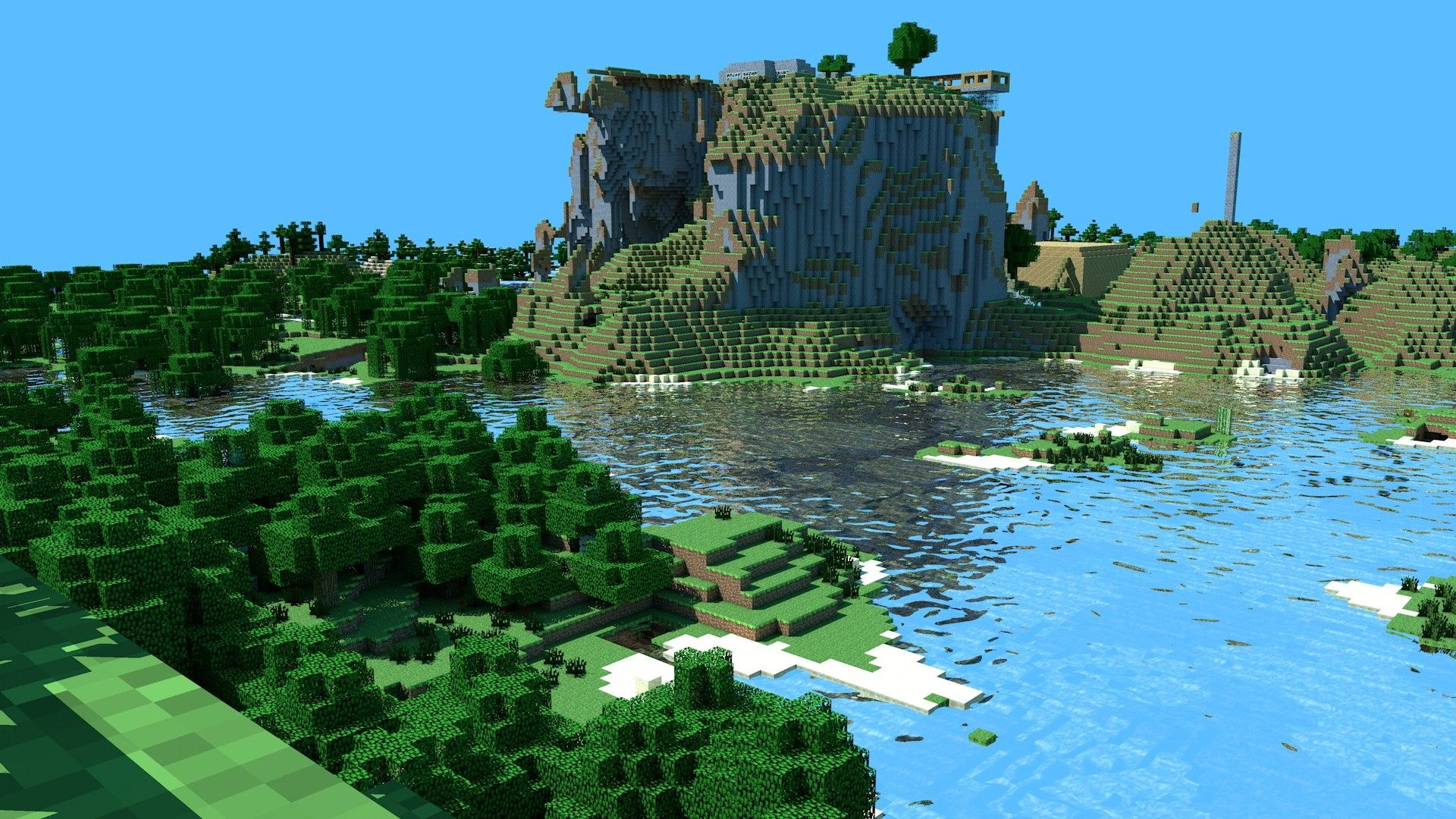 Hd Minecraft Background Page 1