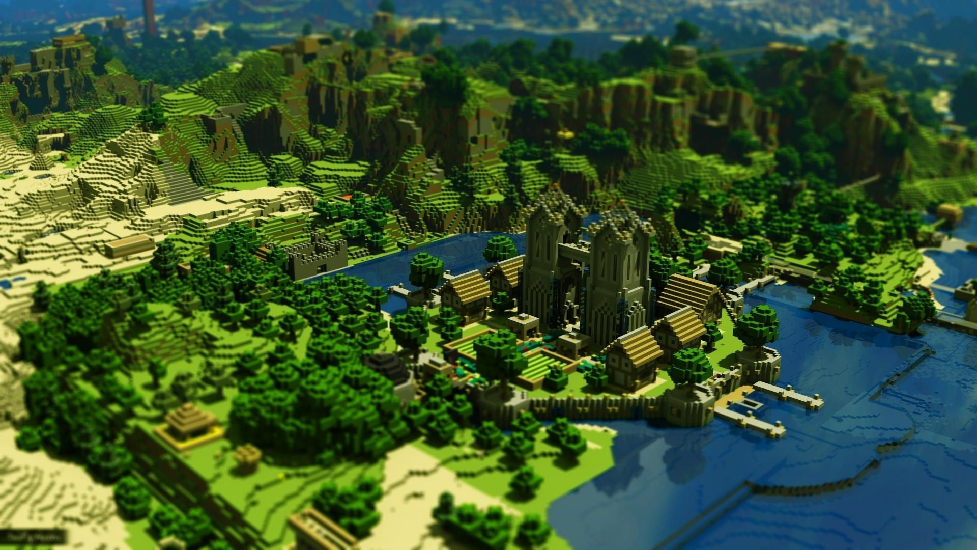 Popular Wallpaper Minecraft Forest - minecraft-scenery-wallpaper-24  Perfect Image Reference_4590100.jpg