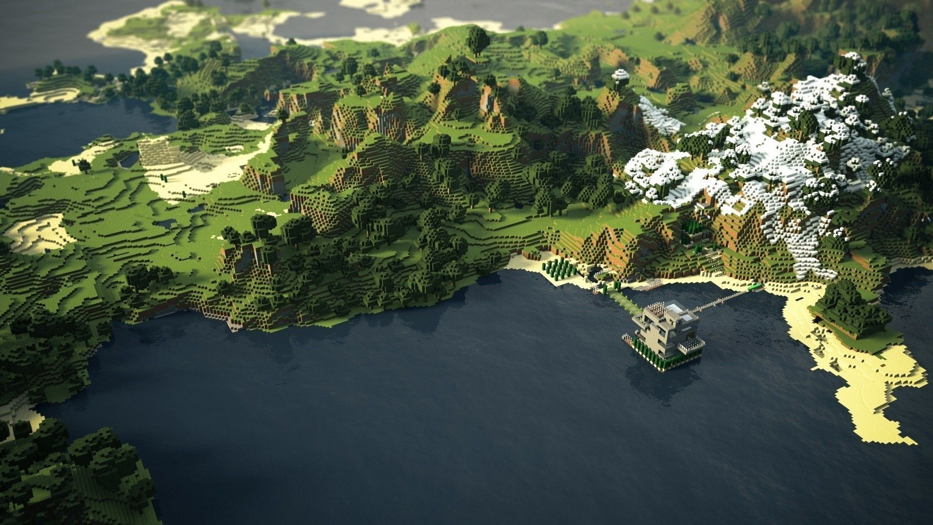 Cool Wallpaper Minecraft Desktop - minecraft-scenery-wallpaper-5  Pictures_924983.jpg