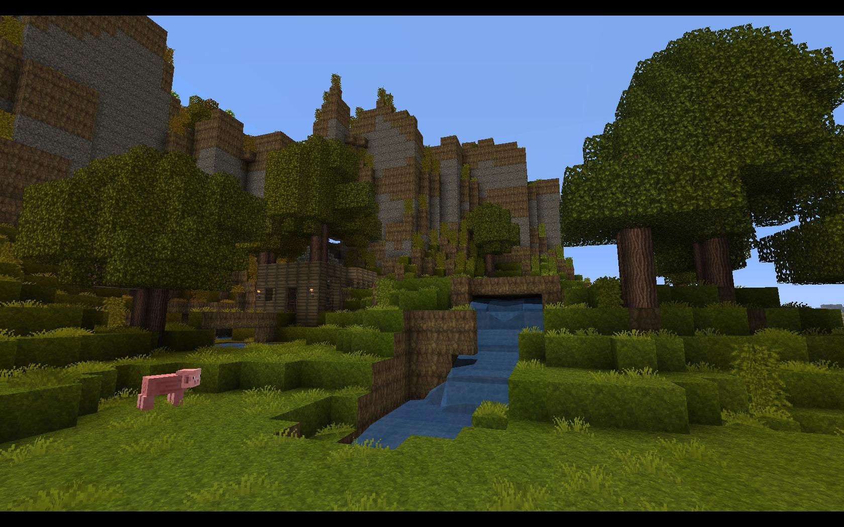 Simple Wallpaper Minecraft Houses - minecraft-wallpaper-1680x1050-11  HD_6438.jpg