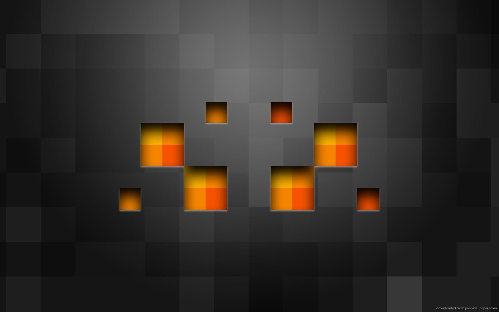 Minecraft Landscape HD Desktop Wallpaper for Wide Ultra