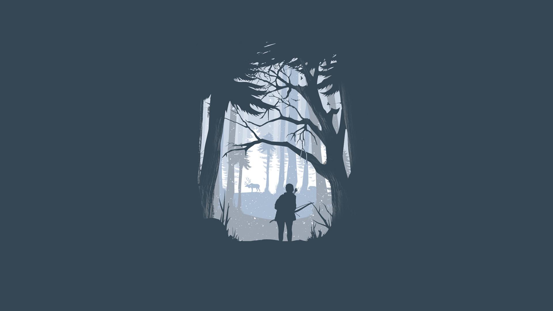 Minimalist Last of Us Wallpaper