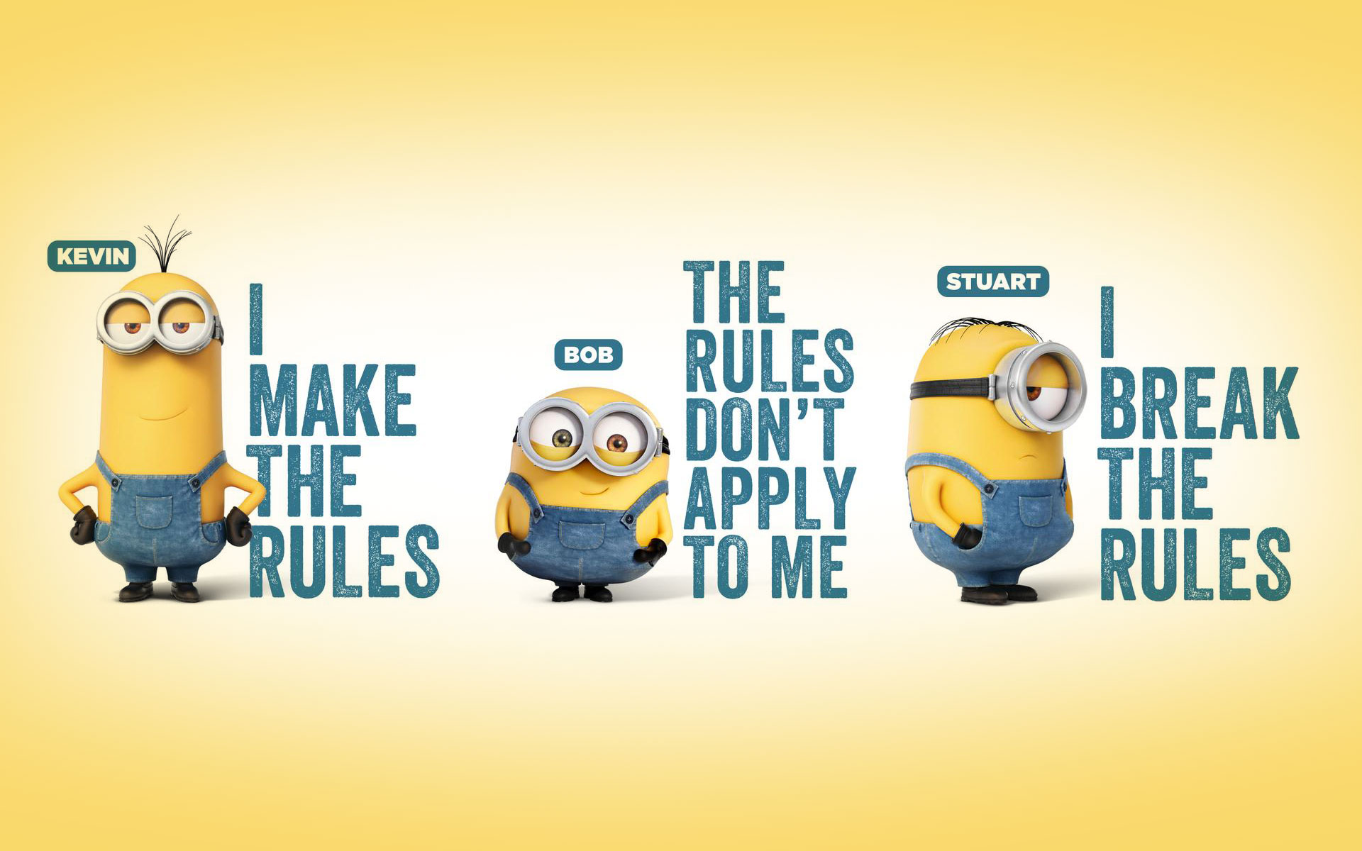 A Cute Collection Of Minions Movie 2015 Desktop Backgrounds