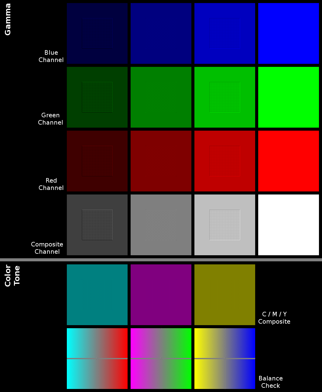 Color Calibration for your Monitor with Color Calibration Images