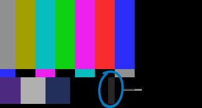 Calibrating Video Monitors with Color Bars