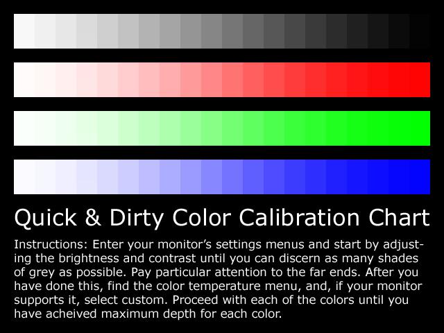 Monitor calibration tools by borysses on DeviantArt