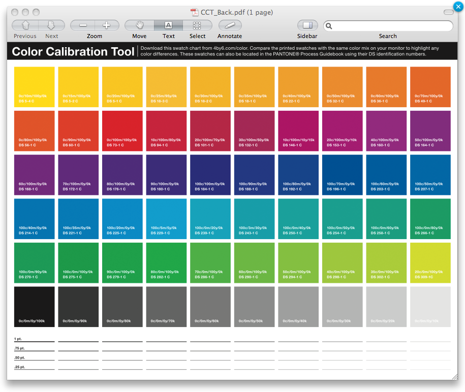 Color Matters | 4by6 com
