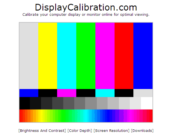 5 Online Tools to Help Calibrate Your Monitor