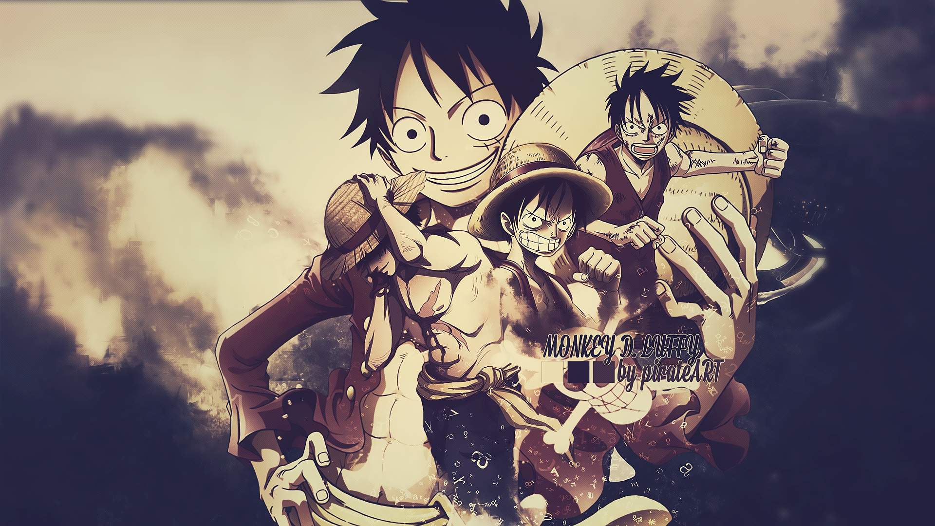 Monkey D Luffy Wallpaper Gambar One Piece Keren Hd