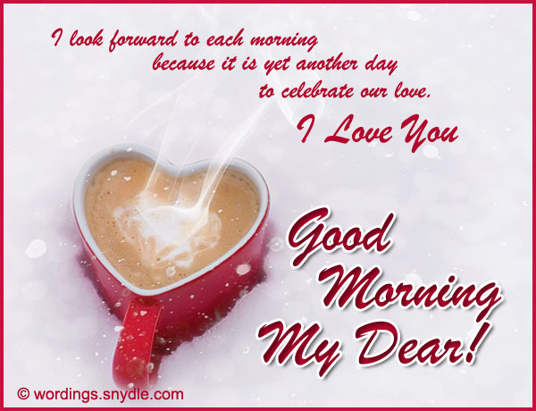 Good Morning Love Messages and SMS - Wordings and Messages
