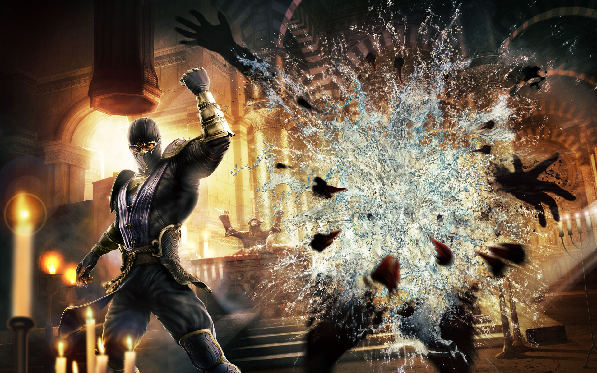 mortal kombat 9 wallpapers - sf wallpaper