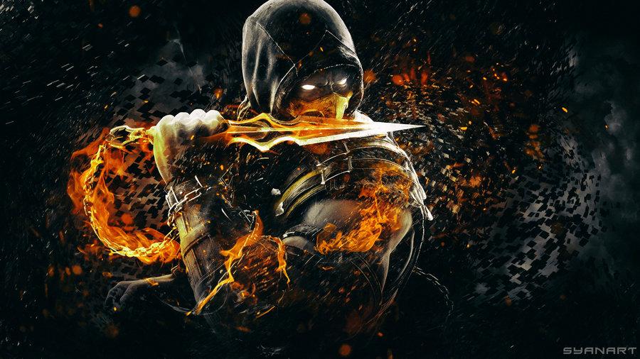 Mortal Kombat X Scorpion Wallpapers - WallpaperSafari