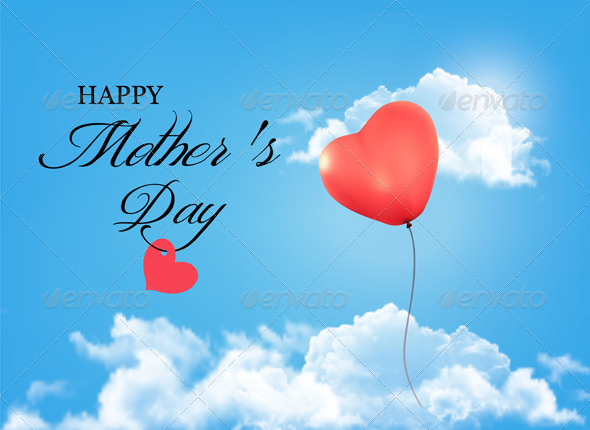 Mother's Day Background by almoond | GraphicRiver