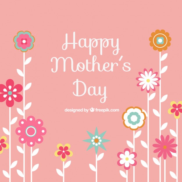 Happy mothers day background Vector | Free Download