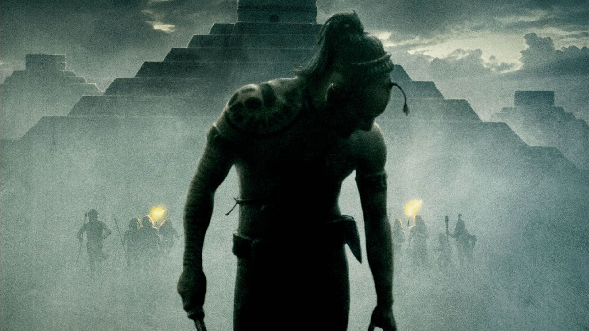 Download Wallpaper 1920x1080 Apocalypto, Movie, Man Full HD 1080p
