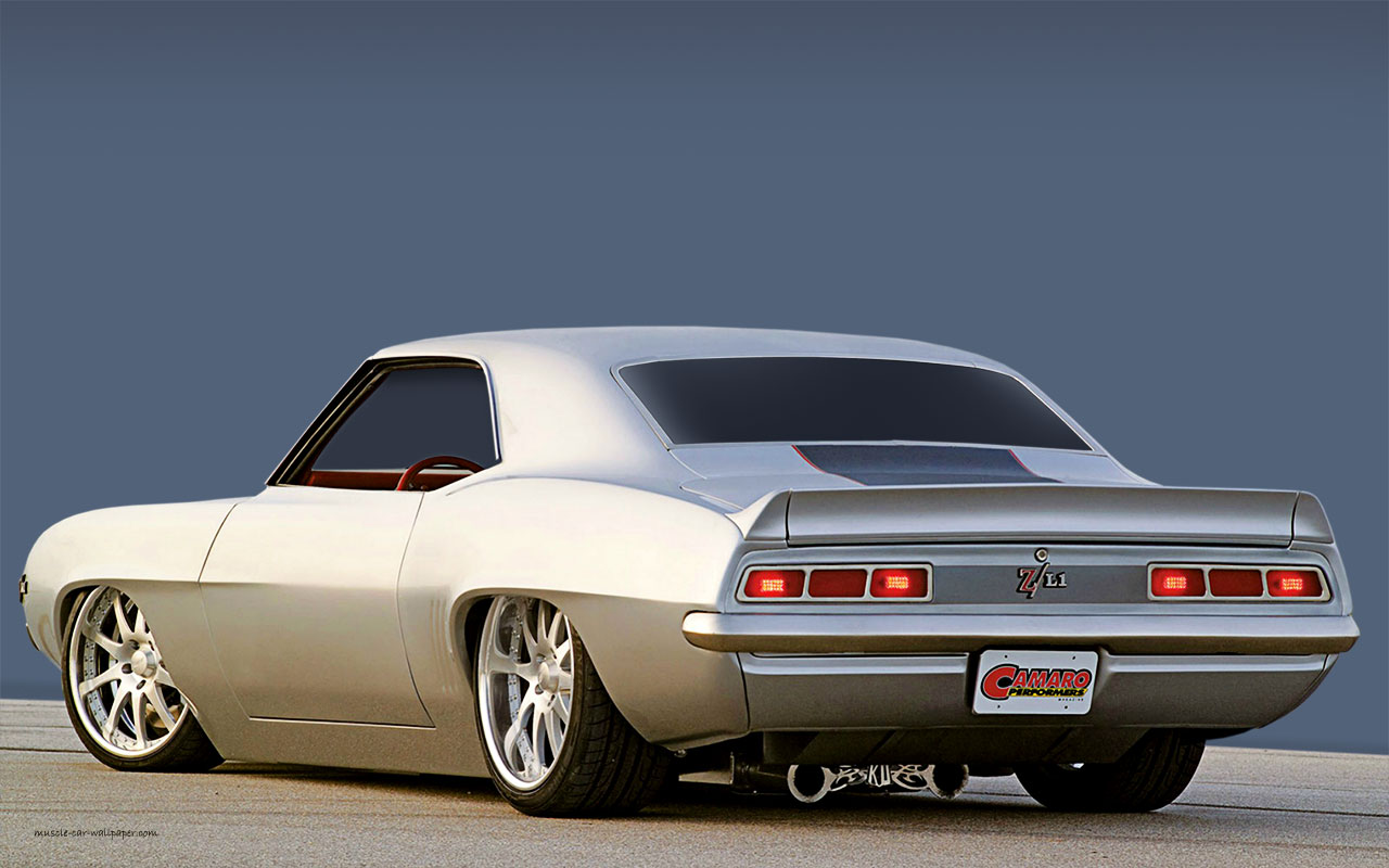 1969 Camaro Custom Muscle Car Wallpaper