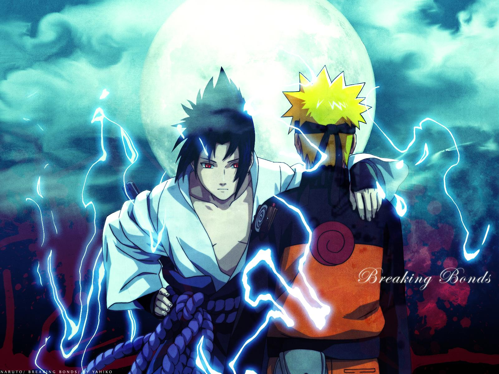 Naruto And Sasuke Wallpapers - WallpaperSafari