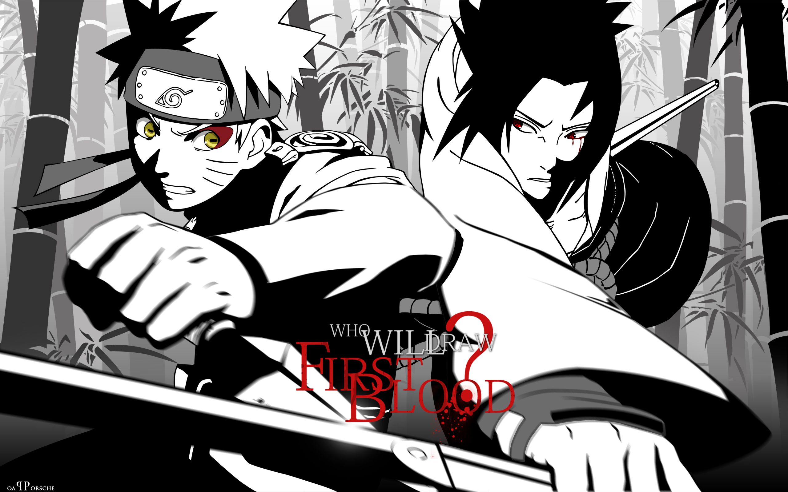 Naruto vs Sasuke HD Wallpaper - WallpaperSafari