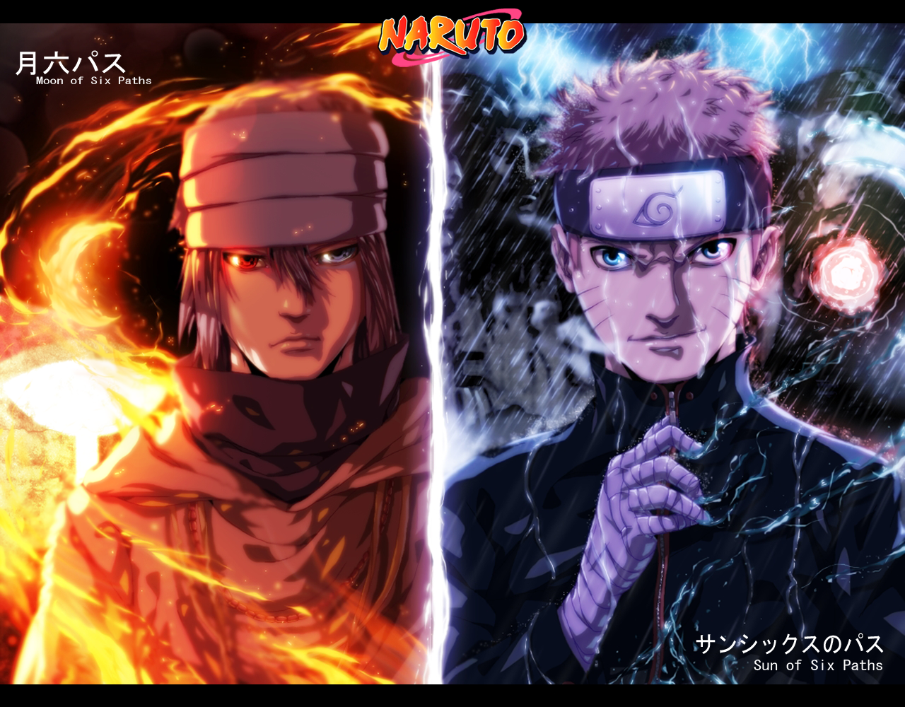 Download Wallpaper Naruto Dual Screen - naruto-and-sasuke-wallpapers-21  Gallery_69947.jpg