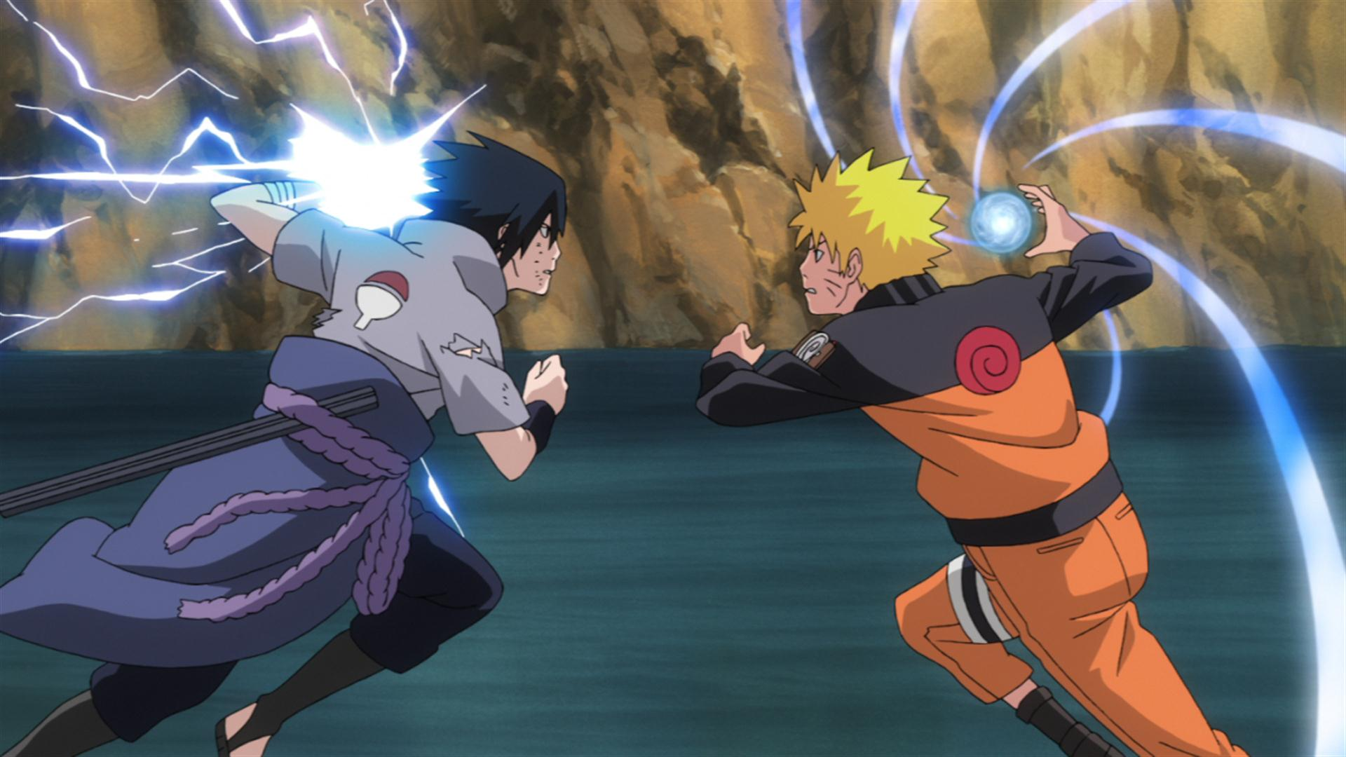Naruto Vs Sasuke Wallpapers - Wallpaper Cave