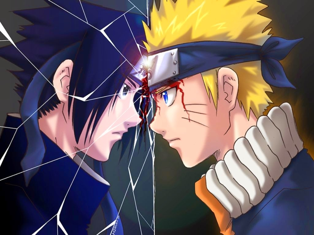 WallpapersKu: Naruto vs Sasuke Wallpapers