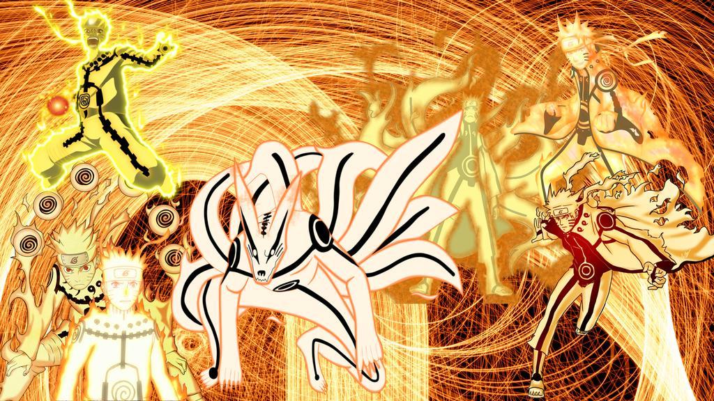 Naruto Kurama Mode Wallpaper Sf Wallpaper