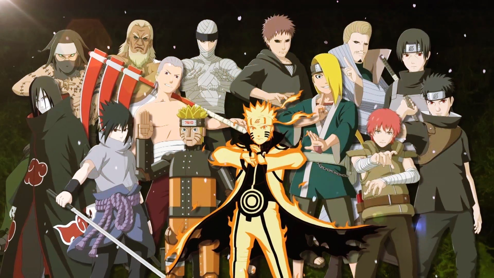 Naruto Shippuden Characters Wallpapers (69+)