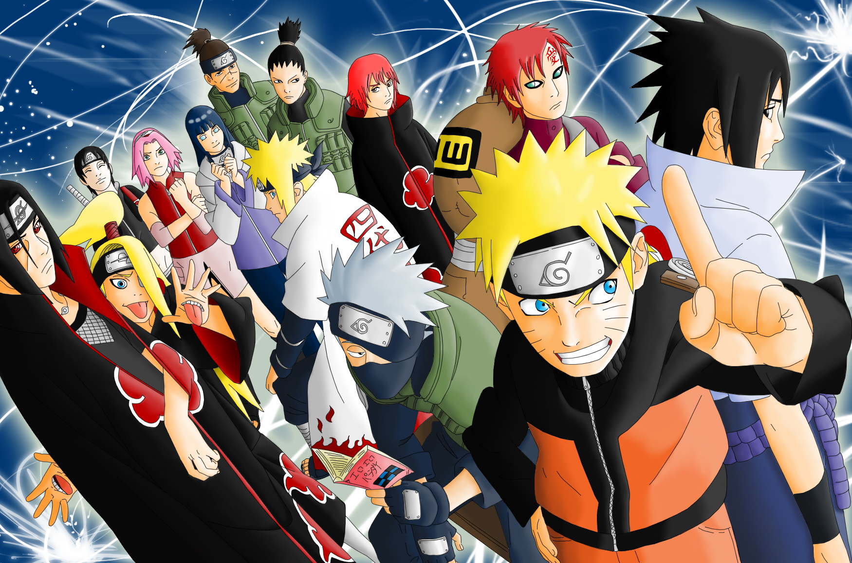 Naruto Shippuden New Wallpapers (76+)