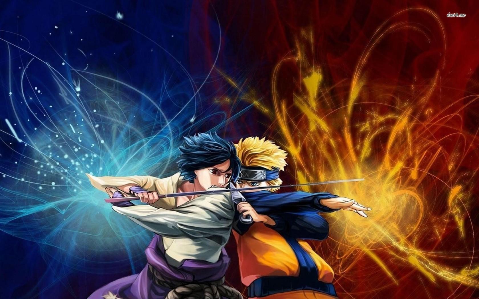 Naruto Vs Sasuke Wallpaper Shippuden Page 1