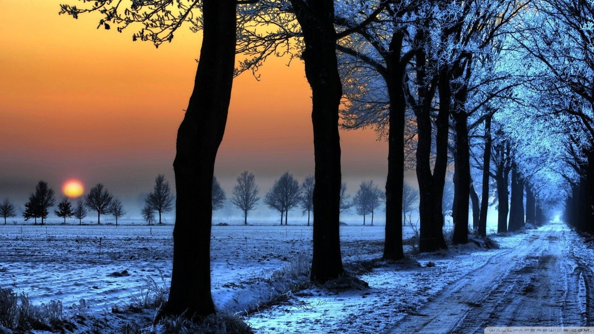 Winter Backgrounds HD Group 84