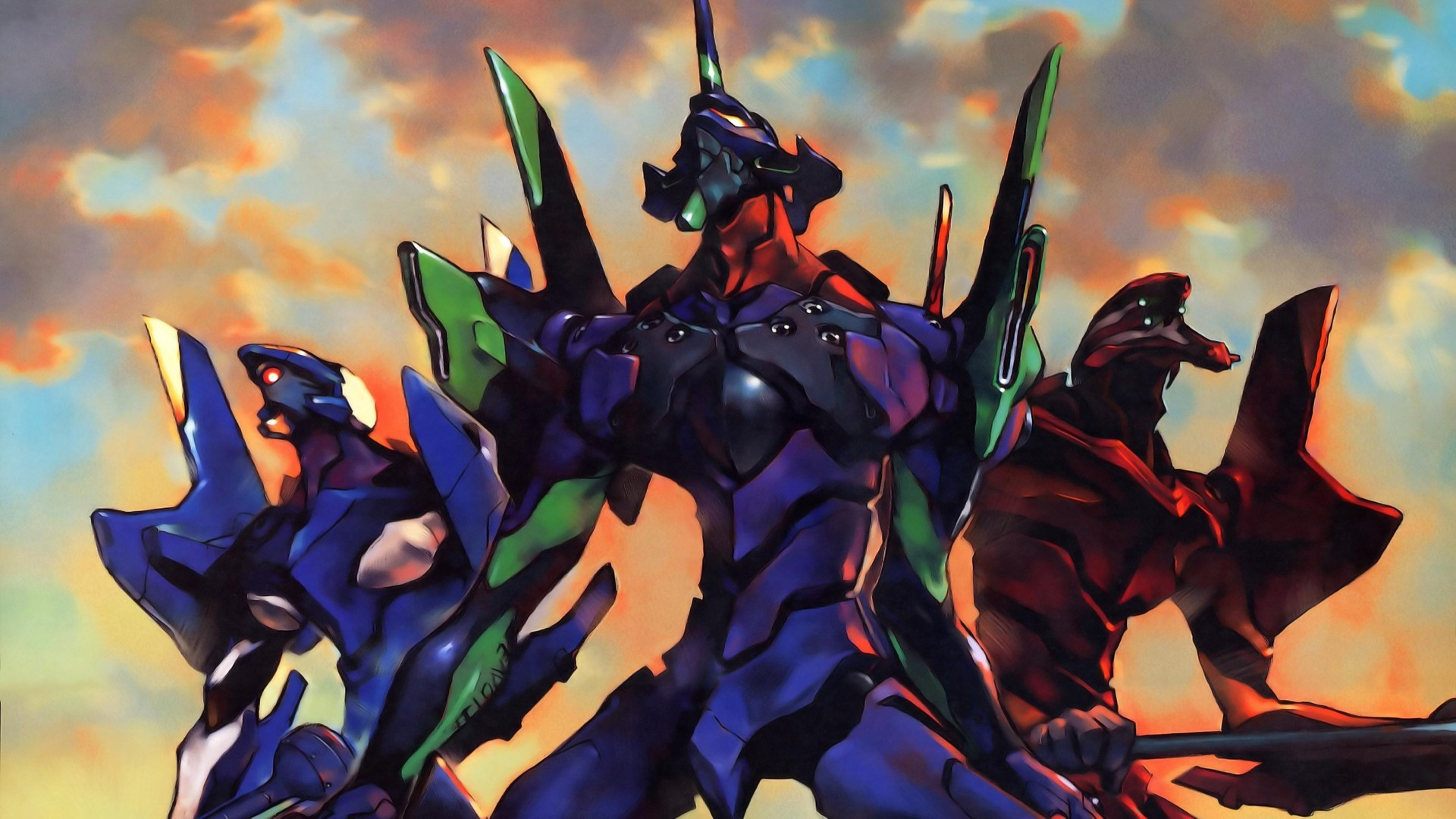 Neon Genesis Evangelion Wallpaper HD