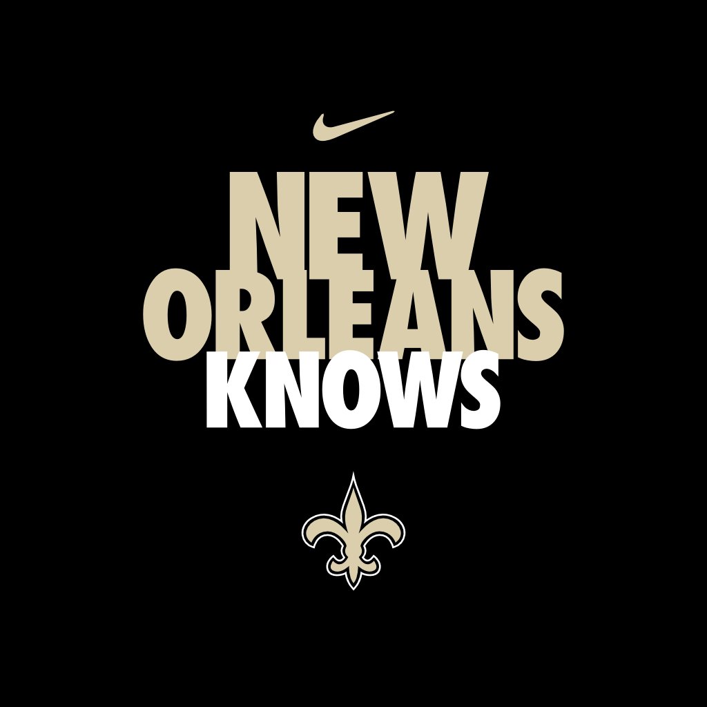New nike wallpaper sf wallpaper new orleans saints wallpapers 74 voltagebd Choice Image