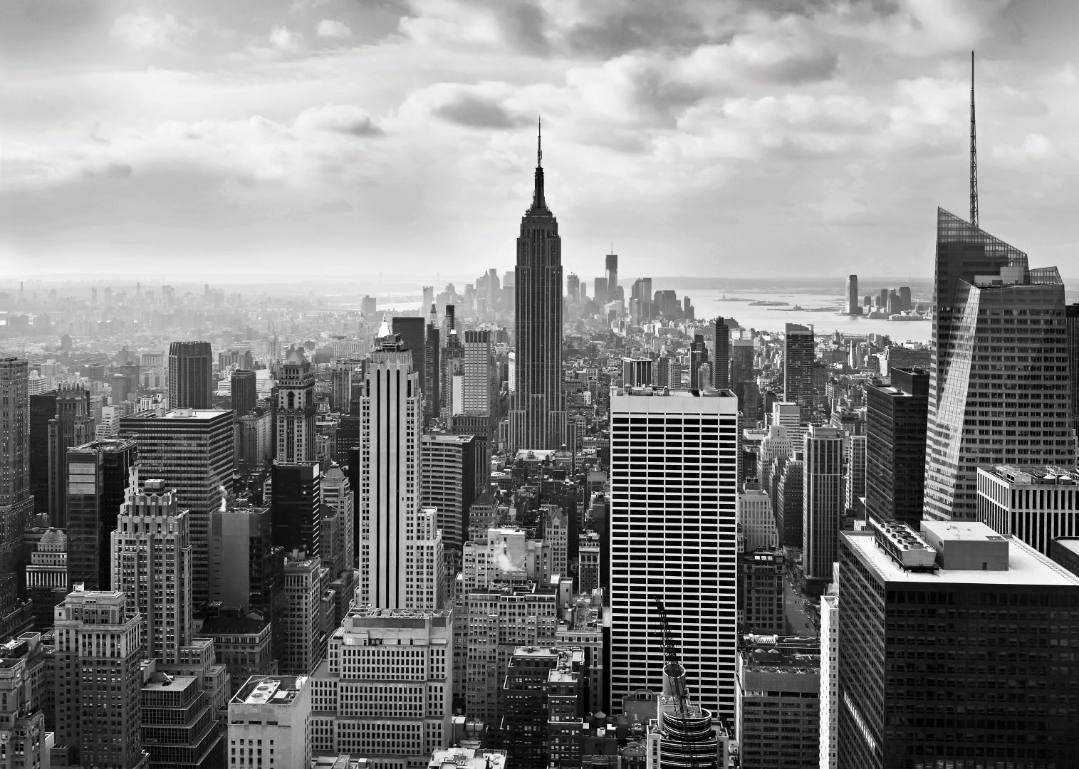New york city wallpaper black and white