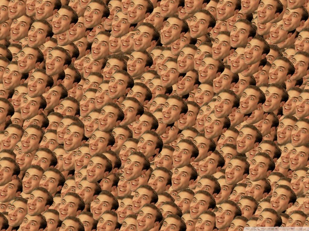 Nicolas Cage You Dont Say HD desktop wallpaper