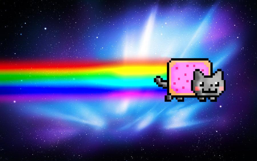 Nyan Cat Wallpaper for Computer | Nyan Cat Wallpaper by