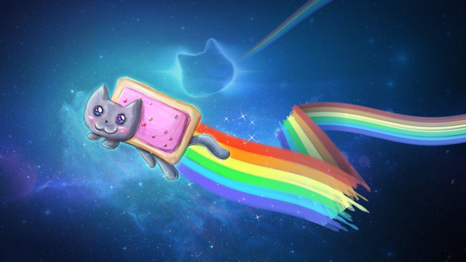 Nyan Cat Wallpapers Group (70+)