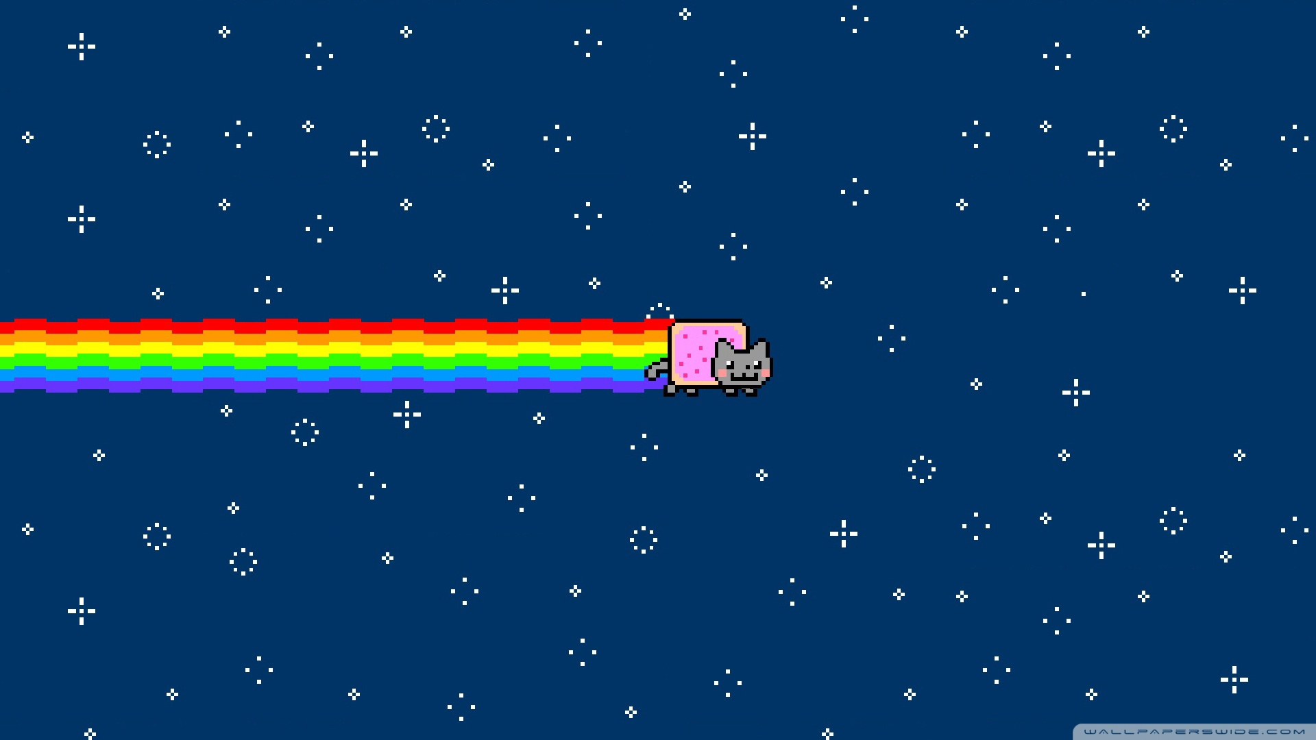 Nyan Cat HD desktop wallpaper : Widescreen : High Definition