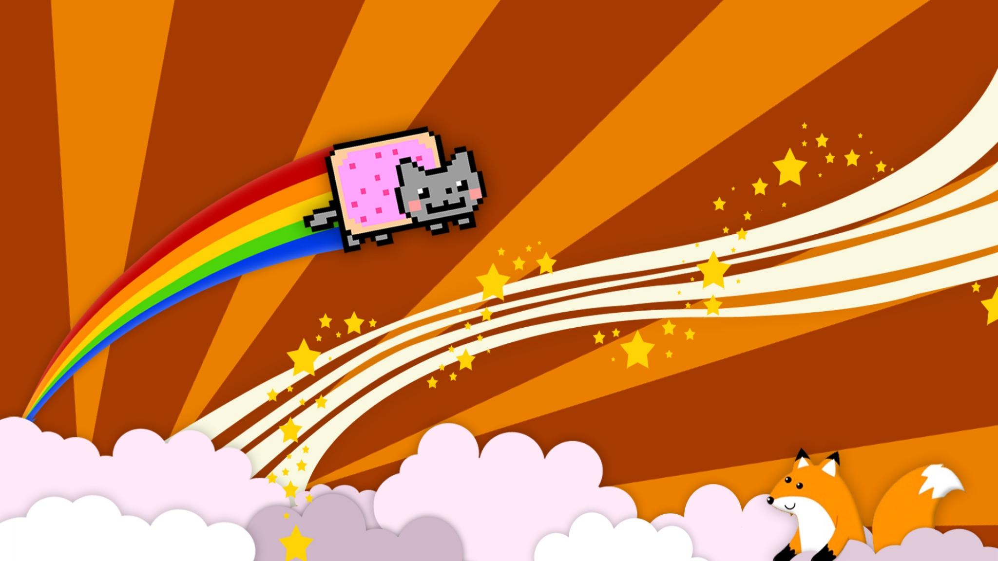 HD Nyan cat Wallpapers HD, Desktop Backgrounds 2048x1152, Images