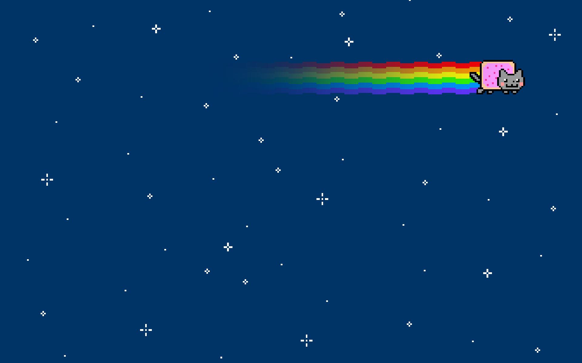 Free Download Nyan Cat Backgrounds | PixelsTalk Net