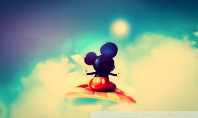 Cute Mickey Mouse HD desktop wallpaper : High Definition