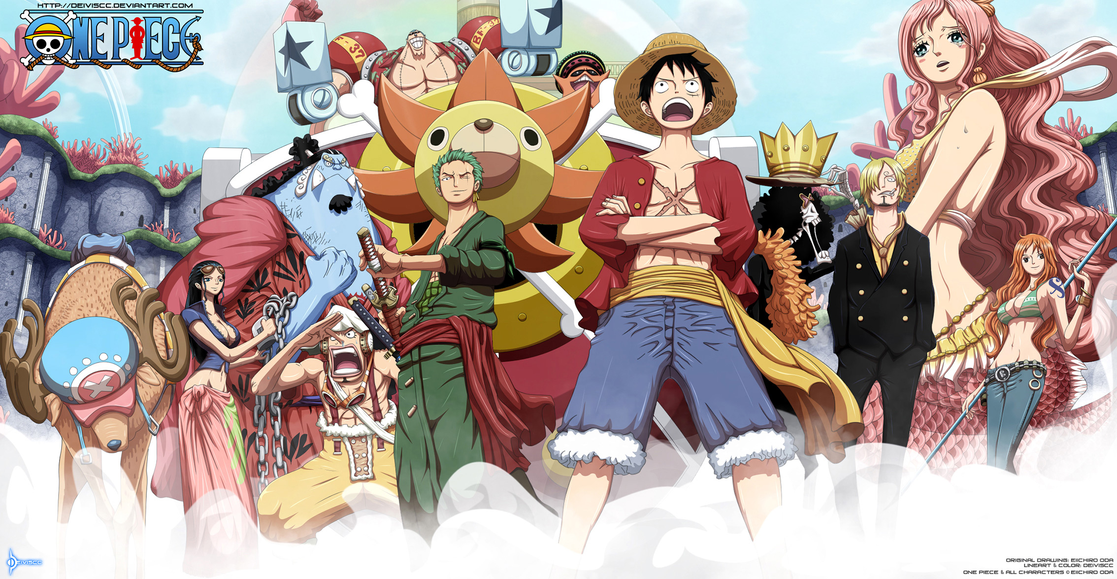 1071 One Piece HD Wallpapers | Backgrounds - Wallpaper Abyss